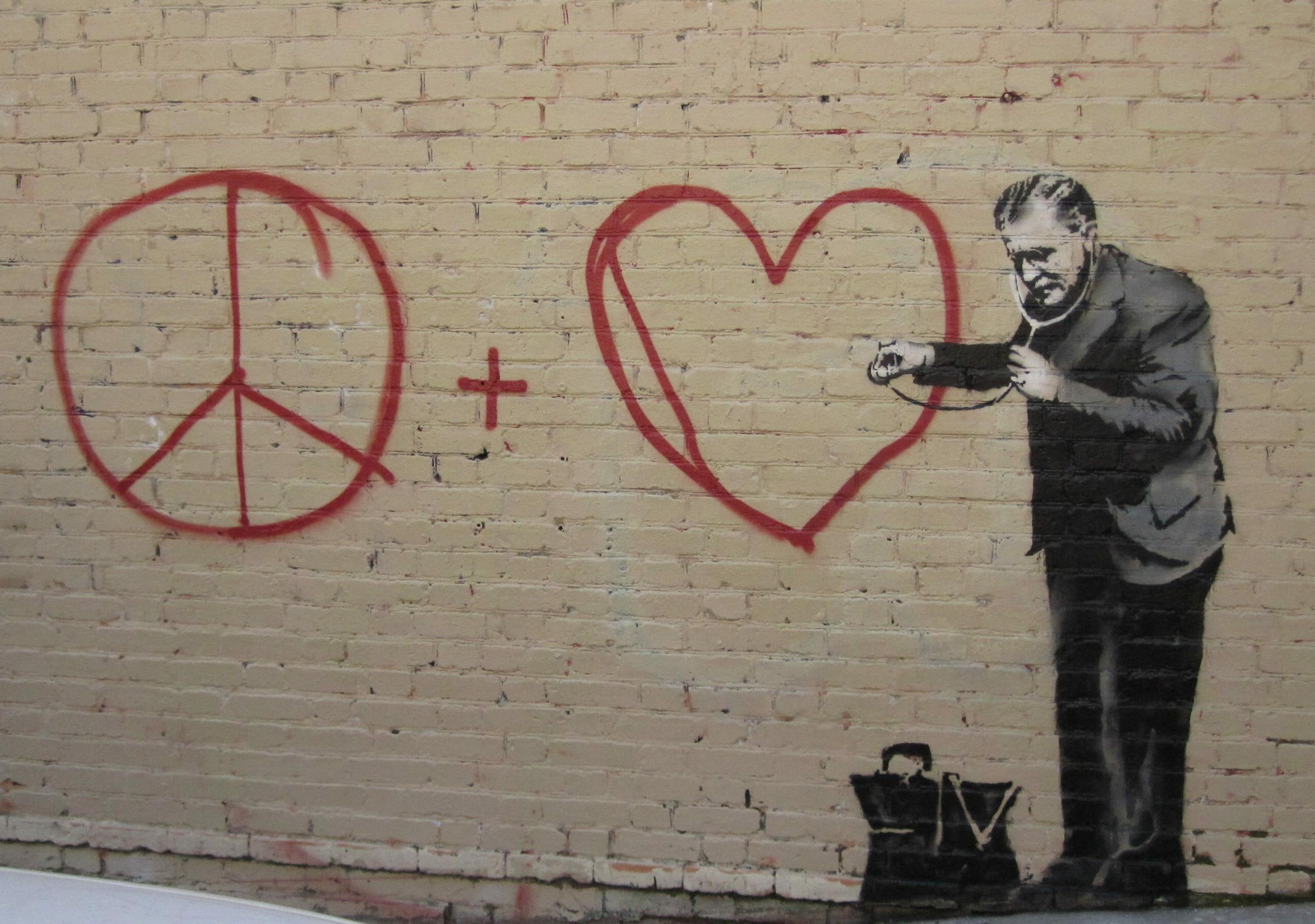 Hvordan går det med at udbrede fred i verden?