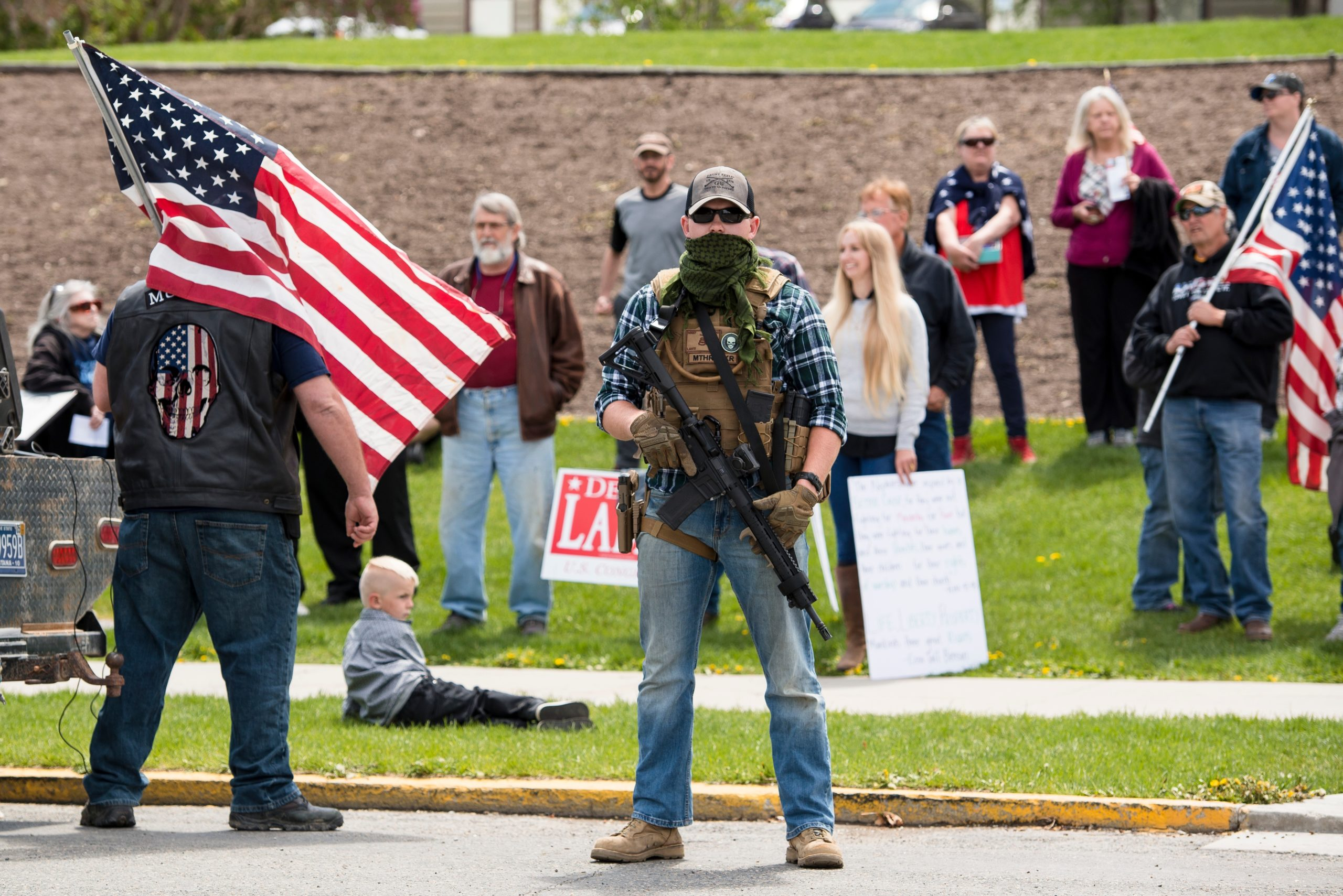 Dommer tillader at vise våben ved valgsteder i Michigan