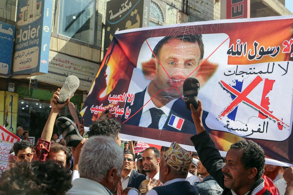 Macron til muslimer: Tegninger kan ikke retfærdiggøre vold