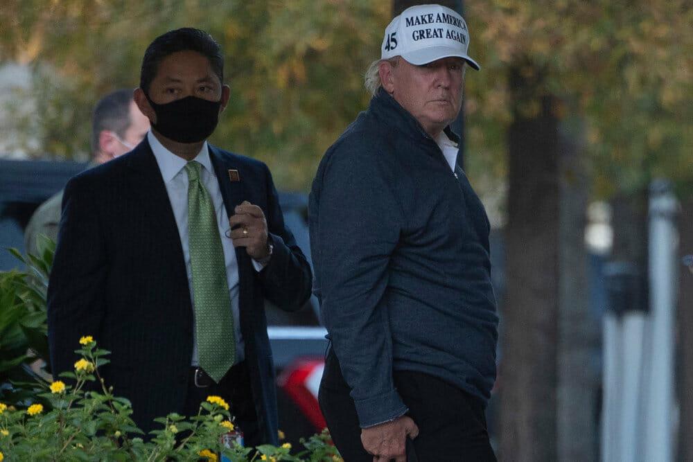 Præsidentvalg i USA: Nederlaget hviler tungt over Trump