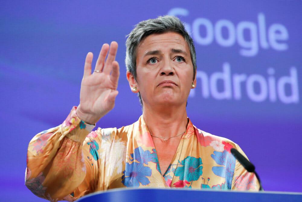 Spilleregler fra Vestager skal tæmme Google og Amazon i EU