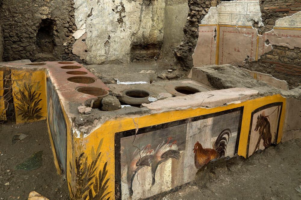 Read more about the article 2000 år gammel fast food-bod afslører romernes spisevaner