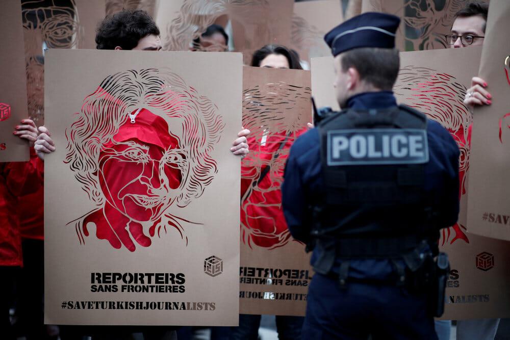 Mindst 50 journalister blev dræbt i 2020