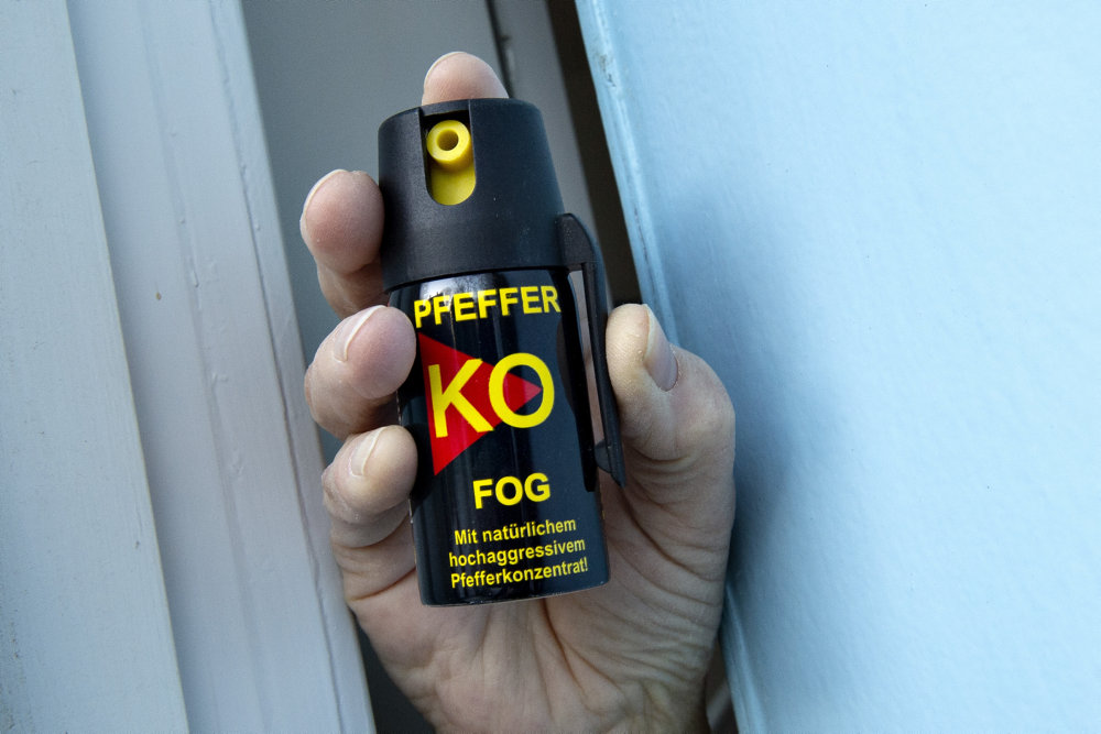 Efter fejlslagen ordning bliver peberspray igen ulovligt