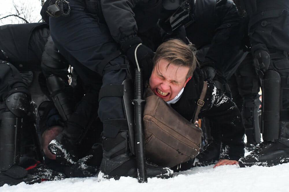 Ekspert: Protester imod Putin har potentiale men bliver slået ned