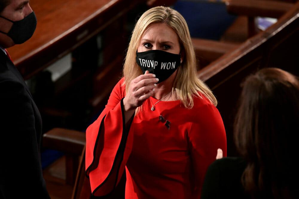 Republikansk leder i Senatet: QAnon-tilhænger en kræftsvulst i partiet
