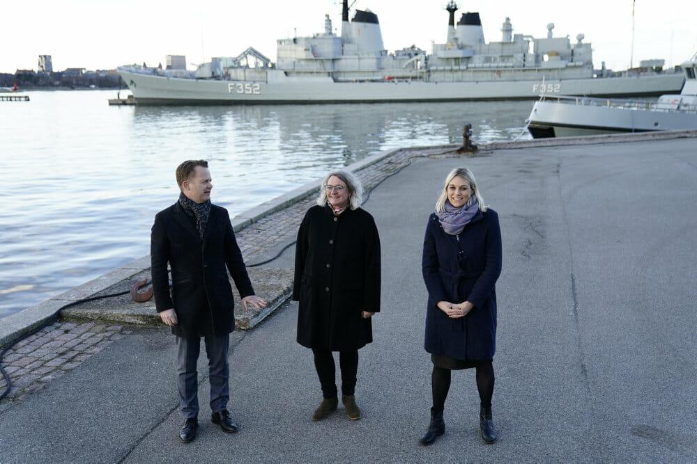 Dansk fregat skal bekæmpe pirateri i Vestafrika