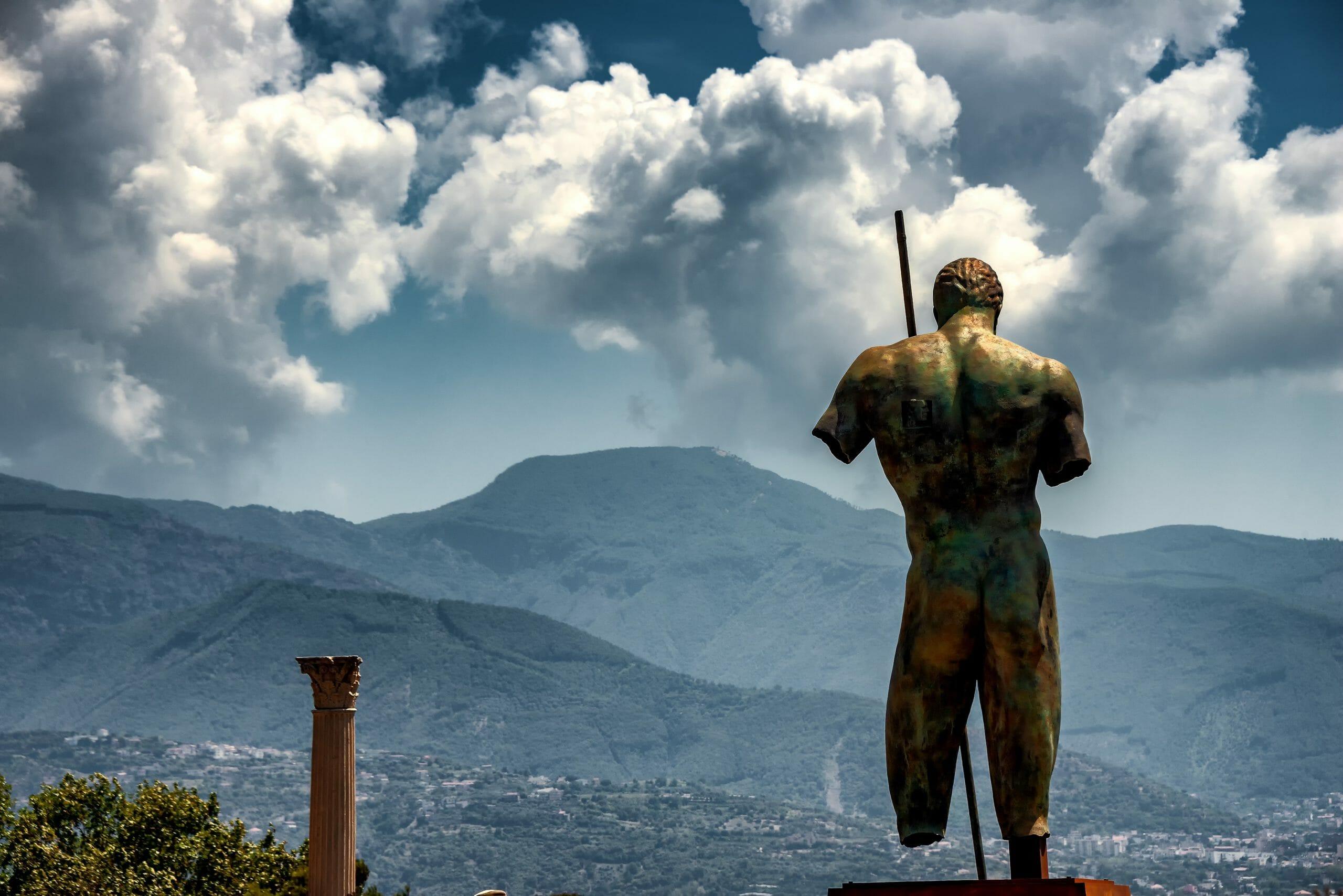 Read more about the article Studie: Pompejis indbyggere døde i pyroplastisk sky på 15 minutter