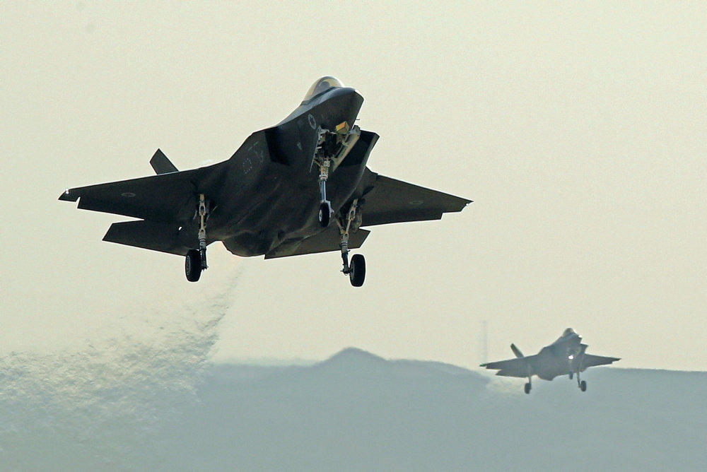 Efter 24 års forberedelse får flyvevåbnet første F-35-fly