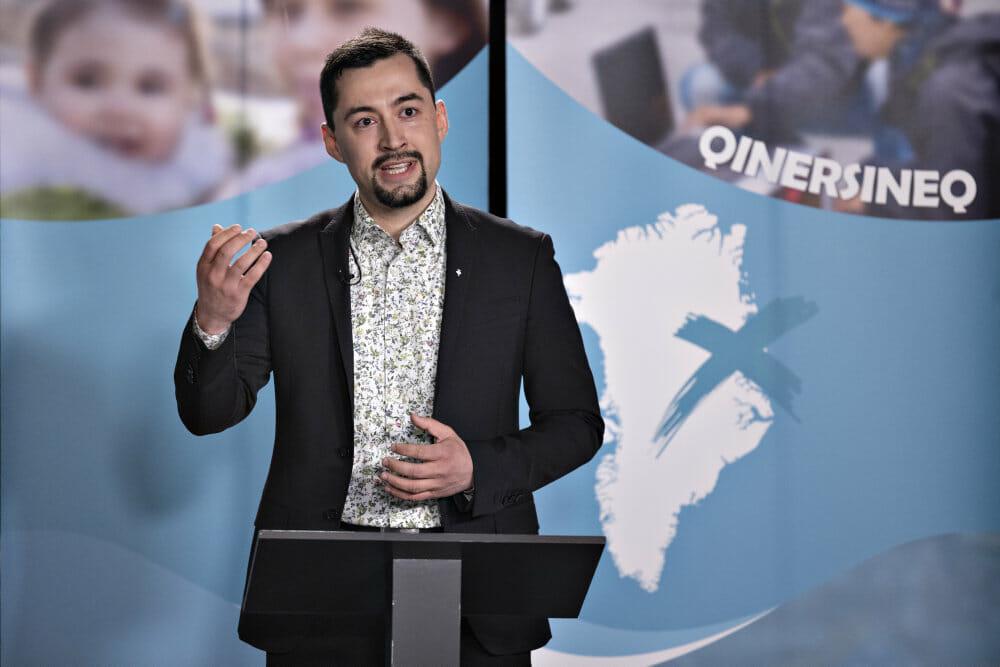 Grønlands valgvinder fra IA: Mineprojekt bliver ikke til noget