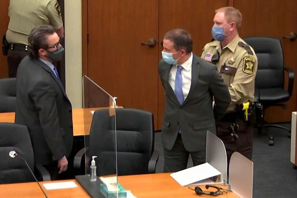 Eksbetjent Derek Chauvin kendes skyldig i drab på George Floyd