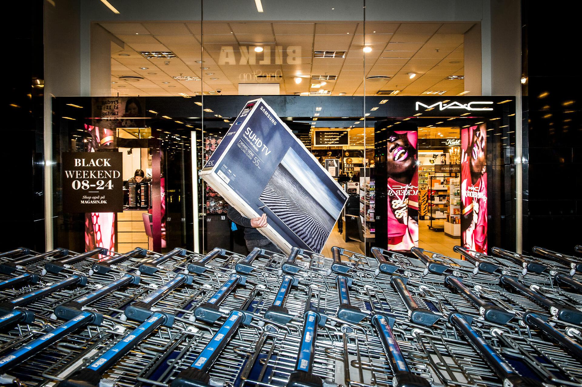 Forbrug: Udenlandske varer fylder mere i dansk klimaaftryk