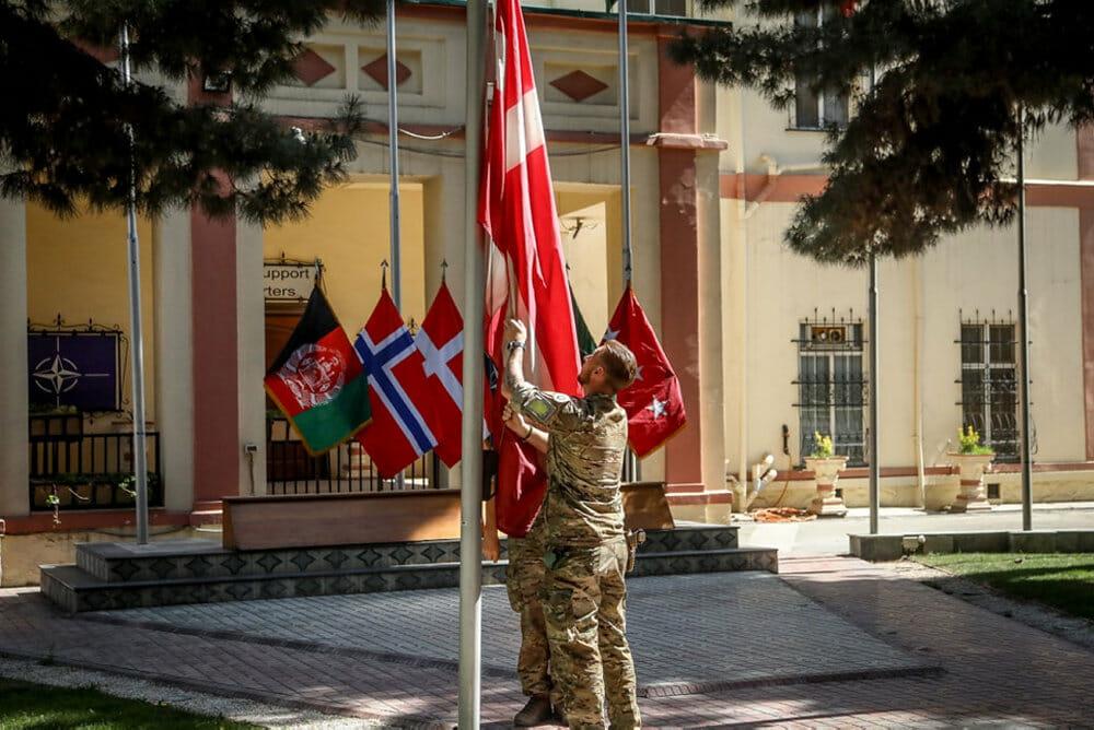 Efter knap 20 år i Afghanistan går turen nu hjem for danske soldater