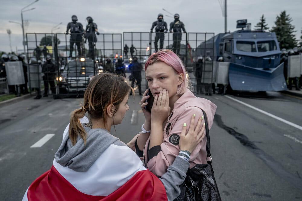 Read more about the article Årets pressefoto viser historisk demonstration i Hviderusland