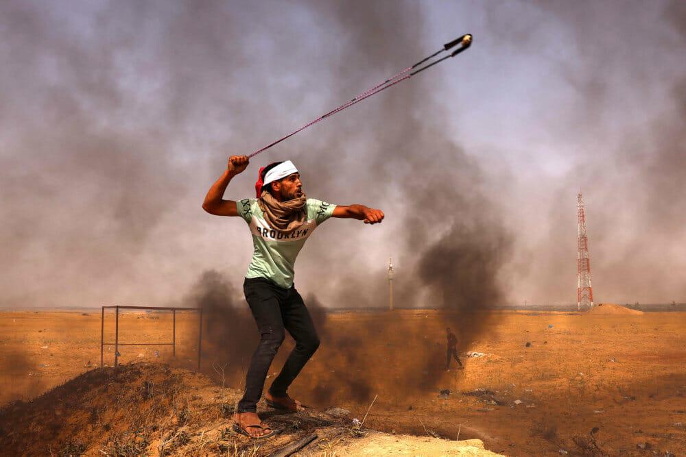 Mindst 20 palæstinensere dræbt i israelsk luftangreb mod Gaza