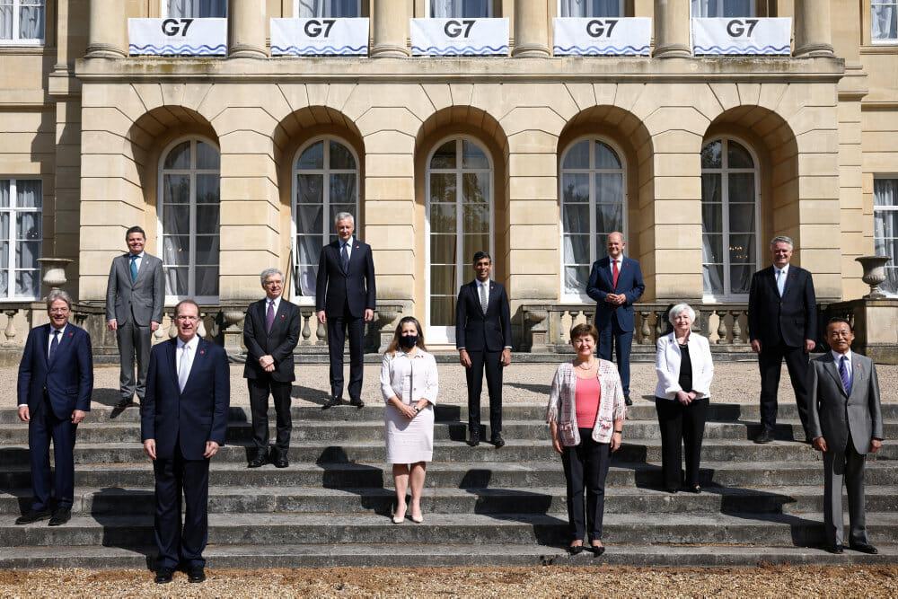 G7-landene er enige om historisk global minimums-selskabsskat