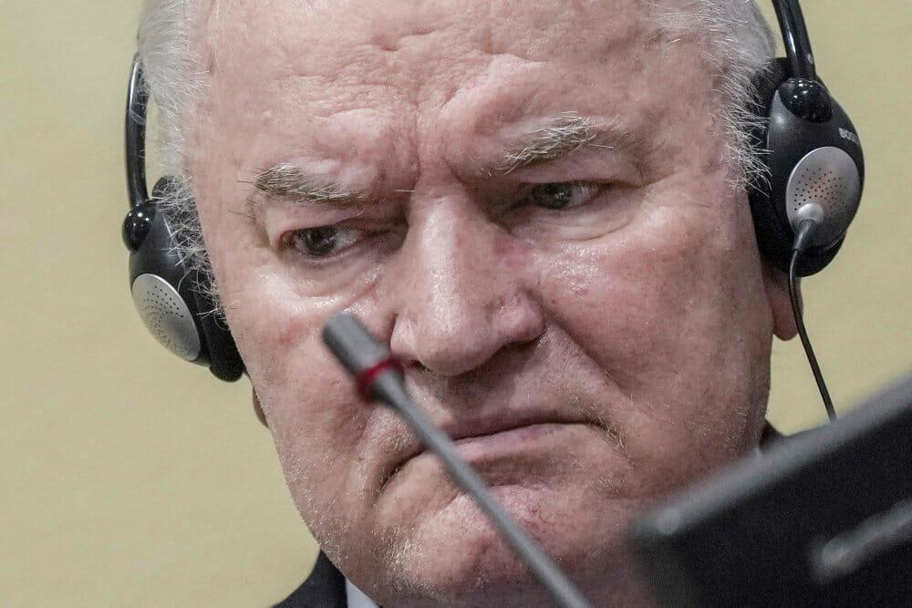 Appeldomstol i Haag stadfæster livstidsdom til hærføreren Mladic