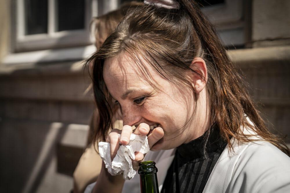 Read more about the article Kvinde fra Men In Black-demo får vekslet to års fængsel til 60 dage