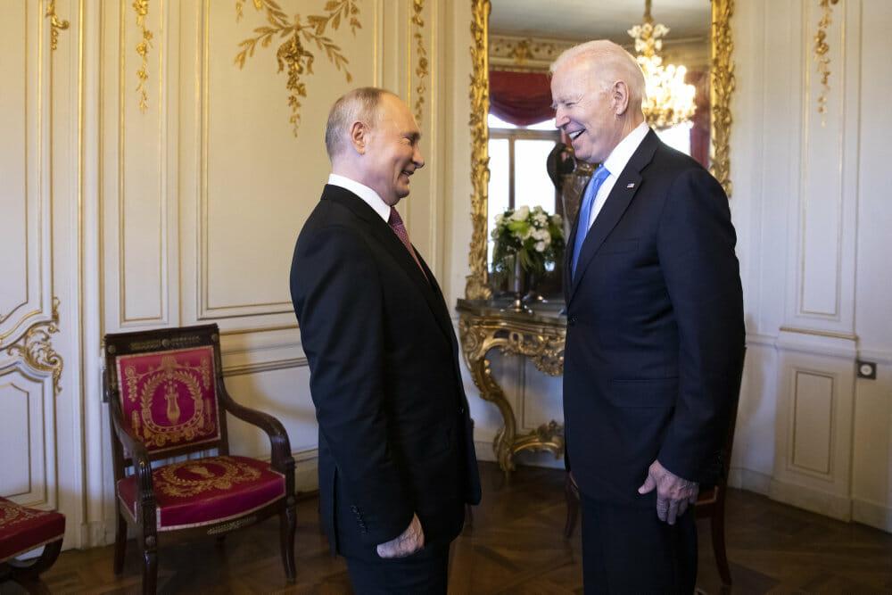 Joe Biden og Vladimir Putin er enige om at mindske risiko for krig