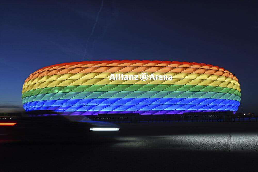 Read more about the article München vil trodse UEFA og lade regnbueflagene blafre i byen